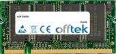 D410U 512MB Modul - 200 Pin 2.5v DDR PC333 SoDimm