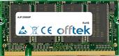 D5000P 512MB Modul - 200 Pin 2.6v DDR PC400 SoDimm