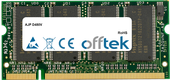D480V 512MB Modul - 200 Pin 2.5v DDR PC333 SoDimm