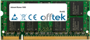 Roma 1000 2GB Modul - 200 Pin 1.8v DDR2 PC2-6400 SoDimm