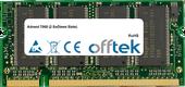 7060 (2 SoDimm Slots) 1GB Modul - 200 Pin 2.5v DDR PC333 SoDimm