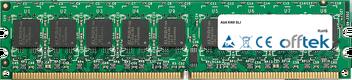 KN9 SLI 2GB Modul - 240 Pin 1.8v DDR2 PC2-5300 ECC Dimm (Dual Rank)