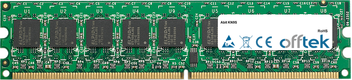 KN9S 2GB Modul - 240 Pin 1.8v DDR2 PC2-5300 ECC Dimm (Dual Rank)