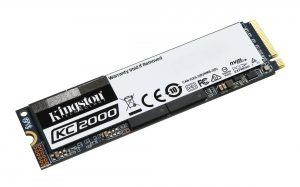 Kingston KC2000 M.2 NVMe SSD 1TB Laufwerk
