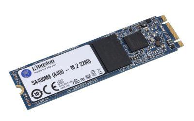 Kingston A400 M.2 SATA SSD 480GB Laufwerk