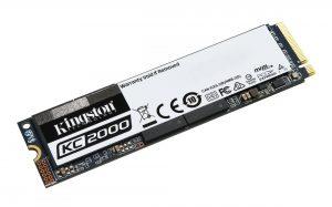 Kingston KC2000 M.2 NVMe SSD 500GB Laufwerk