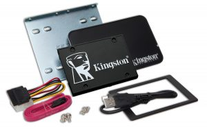 Kingston KC600 2.5-inch SSD Upgrade Kit 512GB Laufwerk