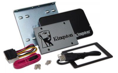 Kingston UV500 2.5 Zoll SSD Upgrade Kit 1.92TB Laufwerk