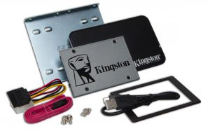 Kingston UV500 2.5 Zoll SSD Upgrade Kit 240GB Laufwerk