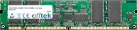 168 Pin Dimm - SDRAM - PC133 (133Mhz) - 3.3V - ECC Registriert 256MB Modul