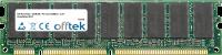 168 Pin Dimm - SDRAM - PC133 (133Mhz) - 3.3V - Ungepuffert ECC 256MB Modul