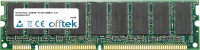 168 Pin Dimm - SDRAM - PC100 (100Mhz) - 3.3V - Ungepuffert ECC 512MB Modul