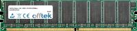 184 Pin Dimm - 2.5V - DDR - PC2700 (333Mhz) - Ungepuffert ECC 256MB Modul