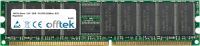 184 Pin Dimm - 2.5V - DDR - PC2700 (333Mhz) - ECC Registriert 256MB Modul