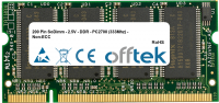 200 Pin SoDimm - 2.5V - DDR - PC2700 (333Mhz) - Non-ECC 128MB Modul