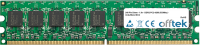 240 Pin Dimm - 1.8v - DDR2 PC2-4200 (533Mhz) -   Ungepuffert ECC 1GB Modul