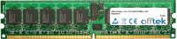 240 Pin Dimm - 1.8v - PC2-4200 (533Mhz) - ECC Registriert 512MB Modul