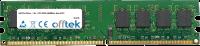 240 Pin Dimm - 1.8v - PC2-3200 (400Mhz)- Non-ECC 256MB Modul