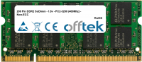 200 Pin DDR2 SoDimm - 1.8v - PC2-3200 (400Mhz) - Non-ECC 1GB Modul