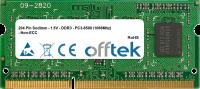 204 Pin Sodimm - 1.5V - DDR3 - PC3-8500 (1066Mhz) - Non-ECC 2GB Modul