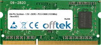 204 Pin Sodimm - 1.5V - DDR3 - PC3-10600 (1333Mhz) - Non-ECC 4GB Modul