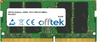 260 Pin SoDimm - DDR4 - PC4-17000 (2133Mhz) - Non-ECC 4GB Modul