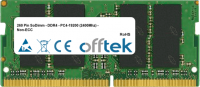260 Pin SoDimm - DDR4 - PC4-19200 (2400Mhz) - Non-ECC  16GB Modul