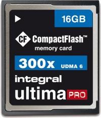 Integral Ultima-Pro Compact Flash (300x) 16GB Karte
