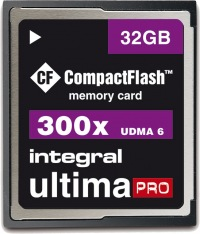 Integral Ultima-Pro Compact Flash 32GB Karte
