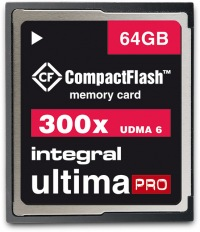 Integral Ultima-Pro Compact Flash 300X 64GB Karte