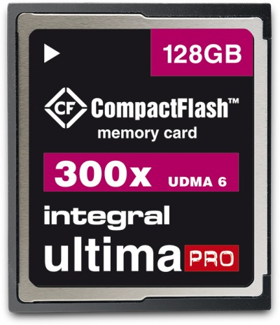 Integral Ultima-Pro Compact Flash 300X 128GB Karte