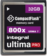 Integral Ultima-Pro Compact Flash 800X 32GB Karte