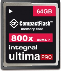 Integral Ultima-Pro Compact Flash 800X 64GB Karte
