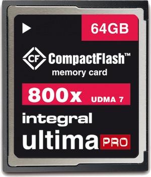 Integral Ultima-Pro Compact Flash (800x) 64GB Karte