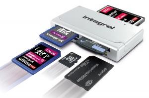 Integral High Speed USB 2.0 - 19 In 1 Karte Reader Karte Reader