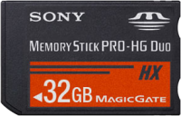 Sony Memory Stick PRO-HG Duo HX 32GB Stick