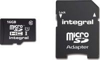 Integral Micro SDHC (Mit Adapter)  16GB Karte