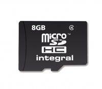 Integral Micro SDHC (Ohne Adapter) 8GB Karte (Class 4)