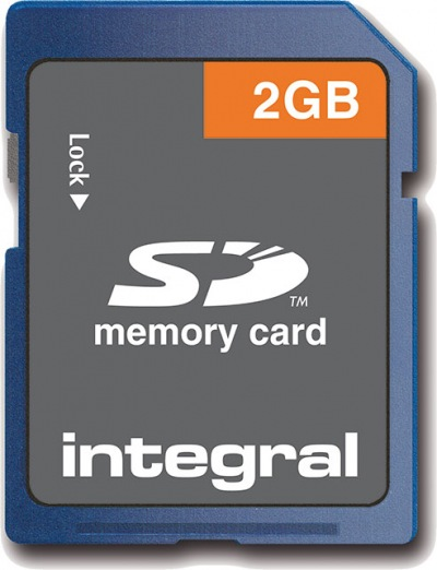 Integral Sicher Digital/SD Karte 2GB Karte