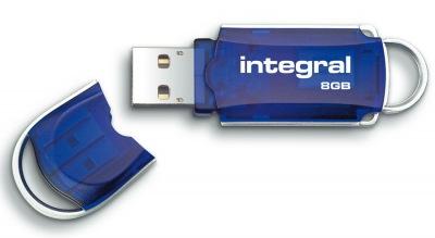 Integral Courier USB-Stift 8GB Laufwerk