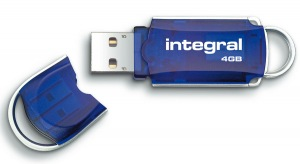 Integral Courier USB-Stift 4GB (34x Speed)