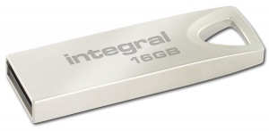 Integral Metal ARC USB 2.0 Flash Laufwerk 16GB