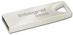 Integral Metal ARC USB 2.0 Flash Laufwerk 32GB