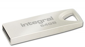 Integral Metal ARC USB 2.0 Flash Laufwerk 64GB