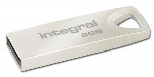 Integral Metal ARC USB 2.0 Flash Laufwerk 8GB