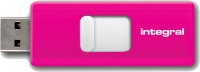 Integral Slide USB Laufwerk 16GB (Pink)