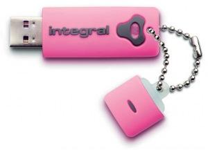 Integral Splash Laufwerk 16GB Laufwerk (Pink)
