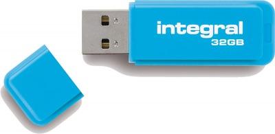 Integral Neon USB Laufwerk 32GB Laufwerk (Blue)