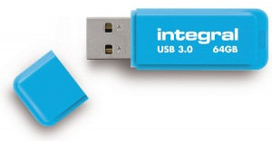 Integral Neon USB 3.0 Flash Laufwerk 64GB