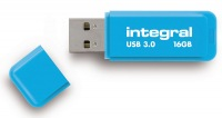 Integral Neon USB 3.0 Flash Laufwerk 16GB Laufwerk (Blue)